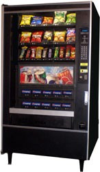 National Vendors 497 (MDB Board) Combo Snack/Soda Machine