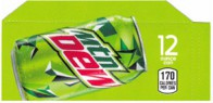 Mountain Dew small size 12 oz can flavor strip