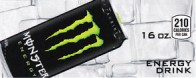 Monster Energy can on ice small size 16 oz can flavor strip