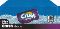 Grape Crush small size 12 oz can flavor strip