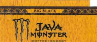 Monster Java Big Black small size 16 oz can flavor strip