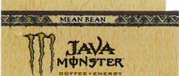Monster Java Mean Bean small size 16 oz can flavor strip