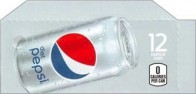 Diet Pepsi Cola small size 12 oz cans flavor strip