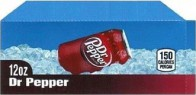 Dr Pepper small size 12 oz can flavor strip