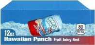 Hawaiian Punch small size 12 oz can flavor strip