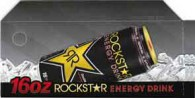 Rock Star original can on ice small size 16 oz can flavor strip