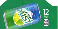 Sierra Mist small size 12 oz can flavor strip
