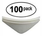 100 - Universal White product pushers for snack machines