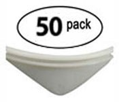 50 - Universal White product pushers for snack machines