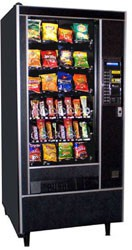Automatic Products 112 snack machine