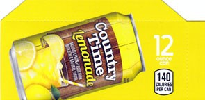 Country Time Lemonade small size flavor strip