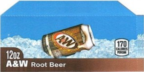 A+W Root Beer small size flavor strip
