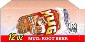 Mug Root Beer small size flavor strip